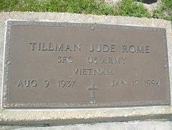"""Tillman Jude """"Tim"""" Rome"""