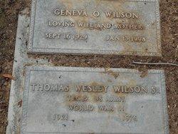 Geneva O. <I>Helms</I> Wilson
