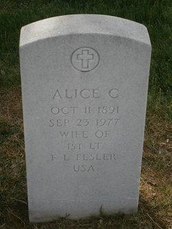 Alice C Fesler