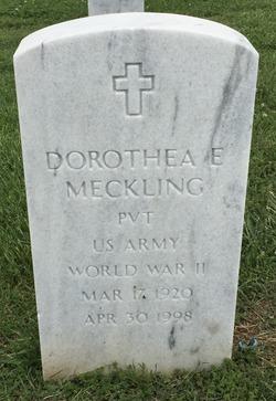 Dorothea Eugenia <I>Dennis</I> Meckling