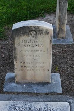 Ollie Lester Adams