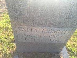 """Sarah """"Sally"""" <I>Wallace</I> Smith"""