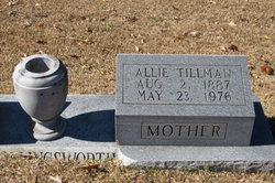Allie <I>Tillman</I> Hollingsworth