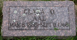 Clara Otelia <I>Peterson</I> Aal