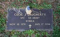 Cecil J Daugherty