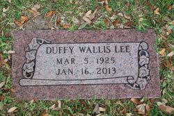 Duffy <I>Wallis</I> Lee