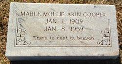 Mabel Mollie <I>Akin</I> Cooper