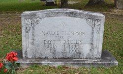 Maude Lee Hale <I>Thompson</I> Hollis