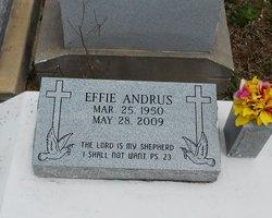 Effie W <I>Jason</I> Andrus