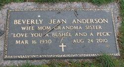 "Beverly Jean ""Bev"" <I>Erickson</I> Anderson"