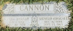 Spencer Croxall Cannon