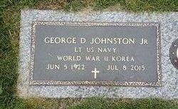 LT George Dewey Johnston, Jr