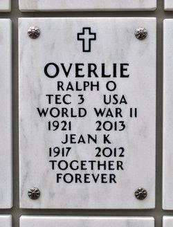 Ralph Oris Overlie