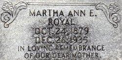 Martha Ann Elizabeth <I>Starling</I> Royals