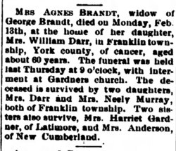 Agnes V <I>Ernst</I> Brandt