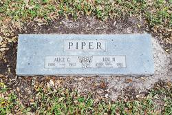 Alice O. <I>Collins</I> Piper