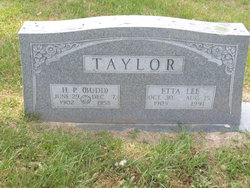 "Herbert Perry ""Budd"" Taylor"