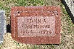 John Archibald Van Duker