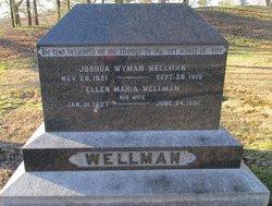 Rev Joshua Wyman Wellman