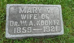 Mary Virginia <I>Strole</I> Koontz