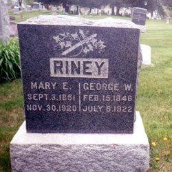 Mary E <I>Owsley</I> Riney