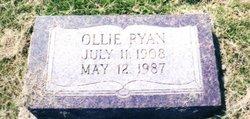 "Oliver F ""Ollie"" Ryan"
