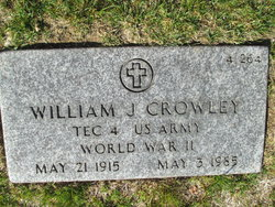 William J Crowley