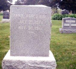 """Frances Agnes """"Fannie"""" Riney"""