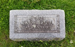 Jennie Emma Alexander