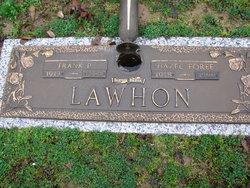 Hazel <I>Foree</I> Lawhon