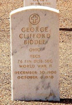 George Clifford Biddle