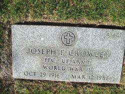 Joseph F Crowley