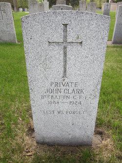 Pvt John Clark