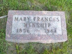 Mary Frances <I>Downey</I> Winship