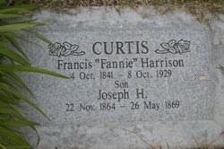 """Francis """"Fannie"""" <I>Harrison</I> Curtis"""
