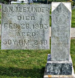 Joseph Norman Alexander