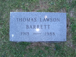 Thomas Lawson Barrett