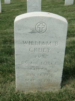 William B Cruey