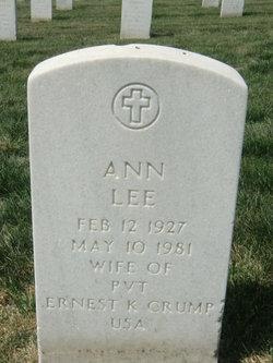 Ann Lee Crump