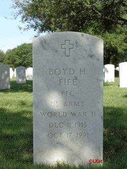 Boyd H Fife