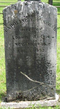 Caroline E. <I>Winegar</I> Austin