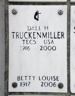 "Elizabeth Louise ""Betty"" <I>Metcalf</I> Truckenmiller"