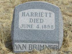 Harriett Van Brimmer
