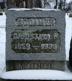 Christina F <I>Young</I> Bodamer