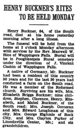 Henry F. Buckner