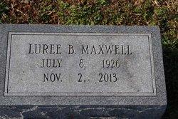 Luree B Maxwell