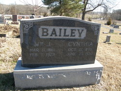 Cynthia M <I>Brooks</I> Bailey