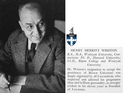 Henry Merritt Wriston