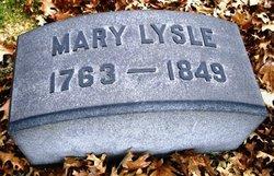Mary <I>Wilson</I> Lysle
