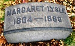 Margaret <I>McIlwaine</I> Lysle
